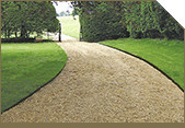 Lawn Edging: Steel edging